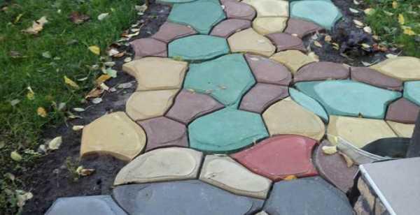 Окрашивание бетона пигментами состов бетона